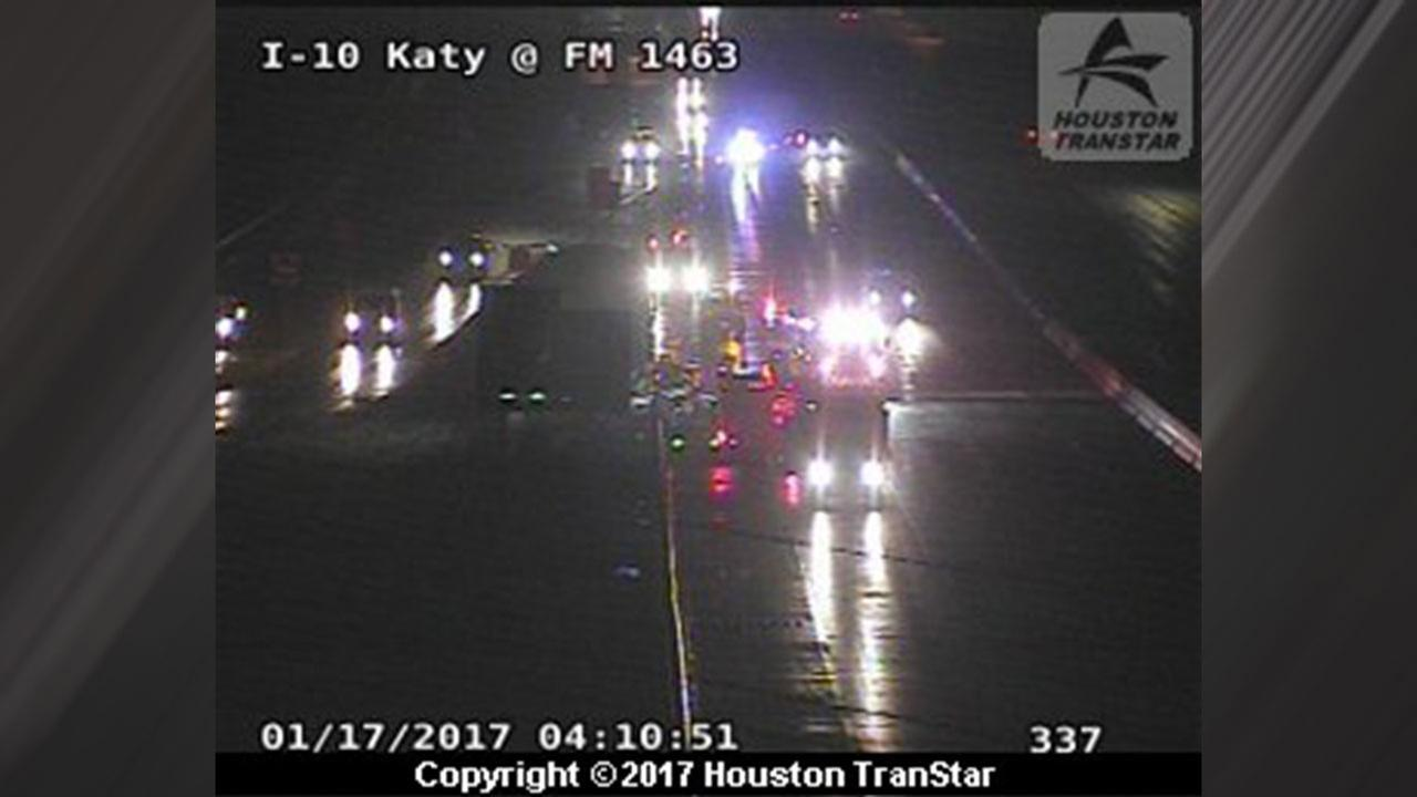Katy Freeway accident