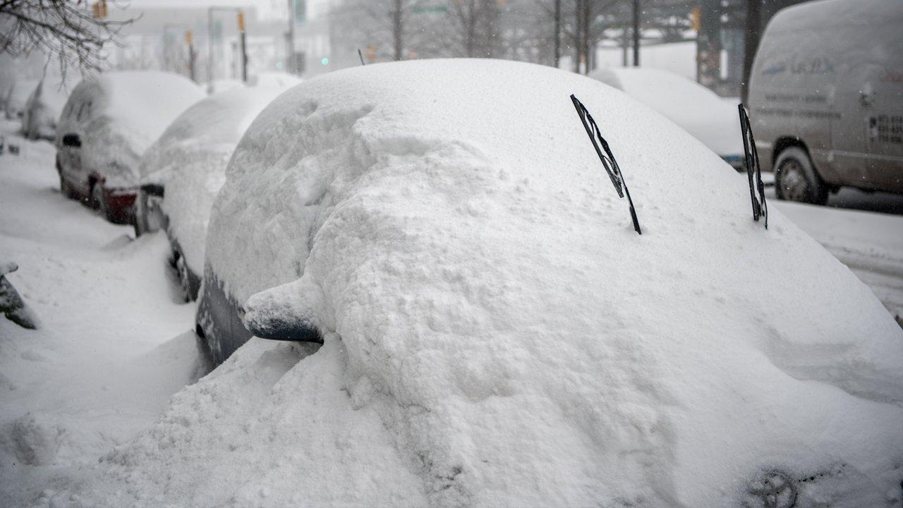 Biggest Snowstorm On Long Island
