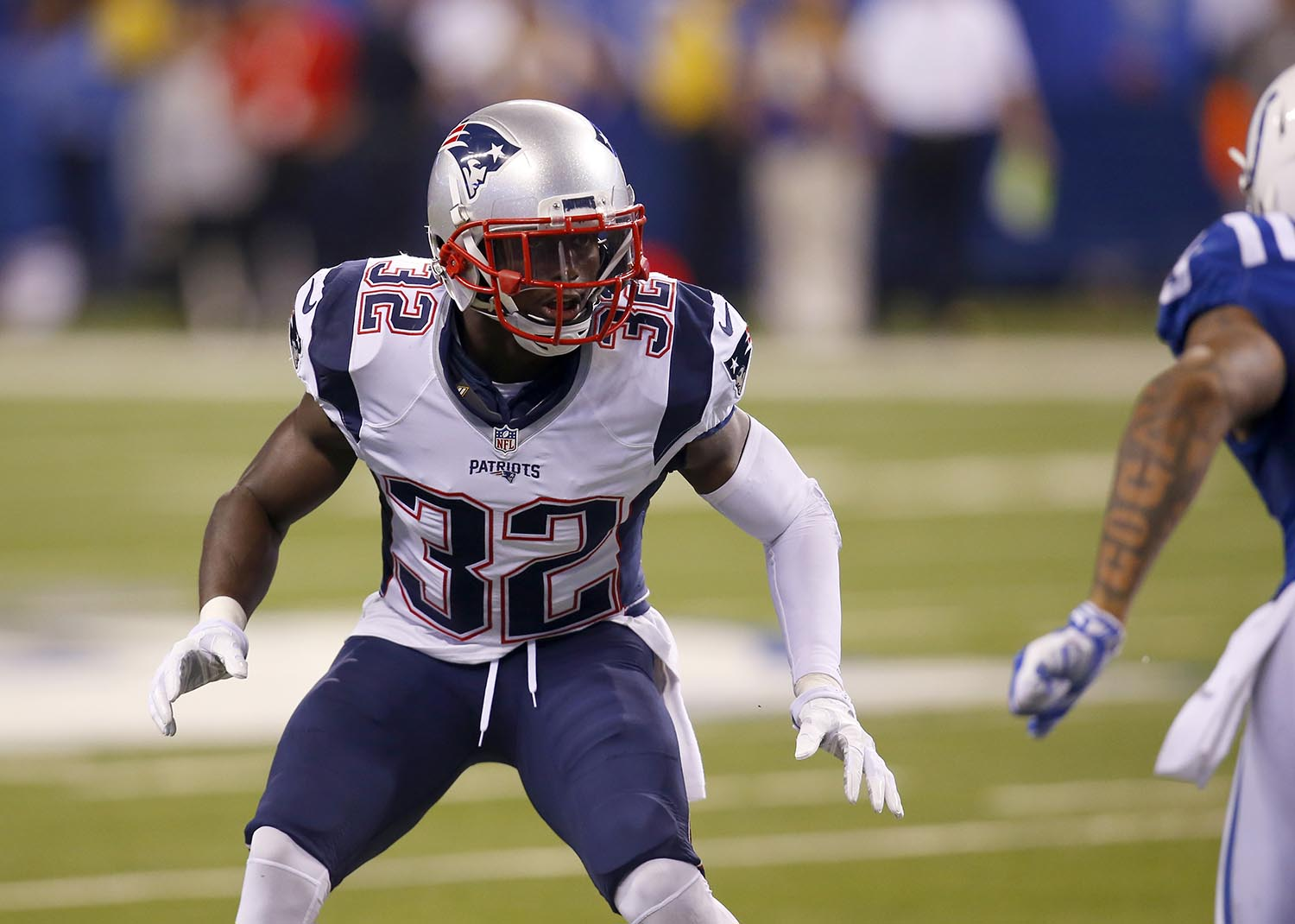 """<div class=""""meta image-caption""""><div class=""""origin-logo origin-image ap""""><span>AP</span></div><span class=""""caption-text"""">New England Patriots' free safety Devin McCourty is a native of Nyack, NY and also attended Rutgers University in New Brunswick, NJ. (Jeff Haynes/AP Images for Panini)</span></div>"""