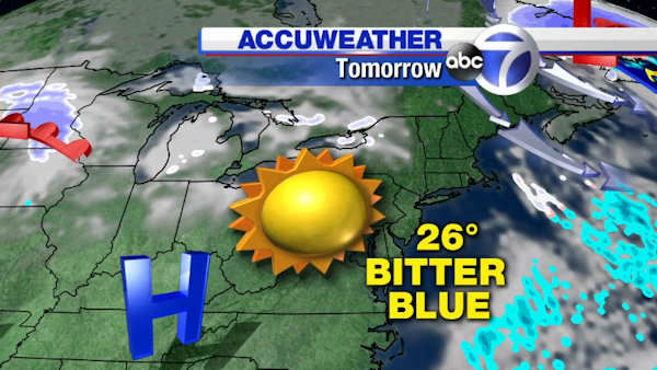 ACCUWEATHER ALERT: Snow followed by ice | abc7ny.com