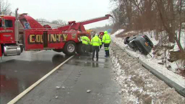 """<div class=""""meta image-caption""""><div class=""""origin-logo origin-image none""""><span>none</span></div><span class=""""caption-text"""">An SUV went off the highway in Ardsley, Westchester County.</span></div>"""
