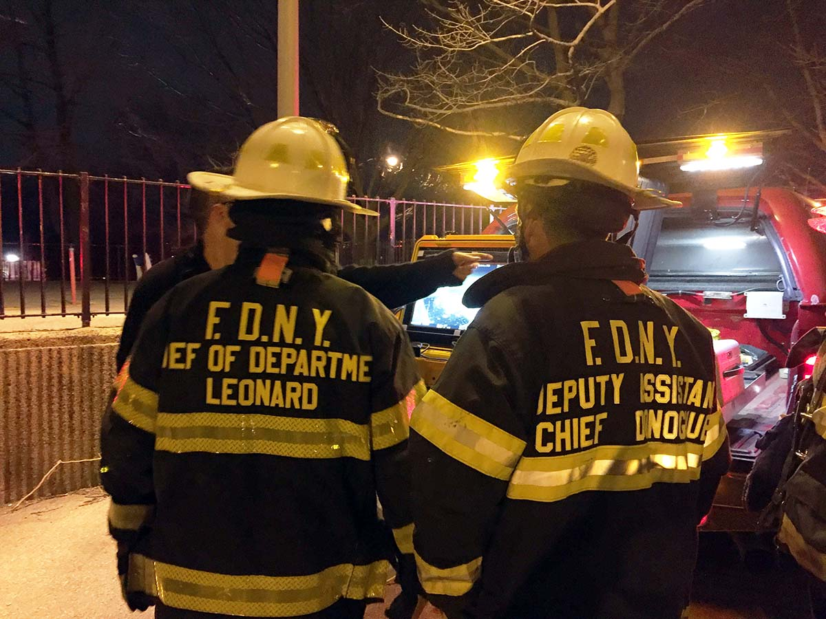 Fdny Uses Drone For The First Time To Help Battle Crotona