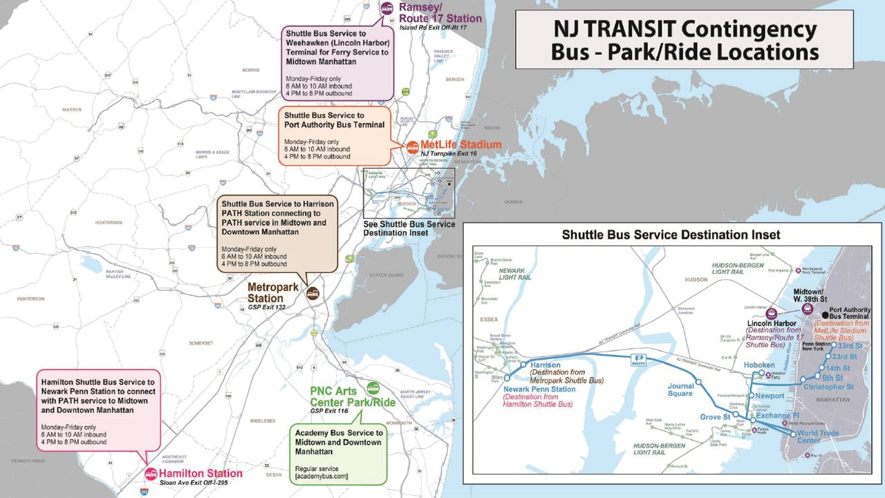 new jersey transit: what you need to know if there's a strike