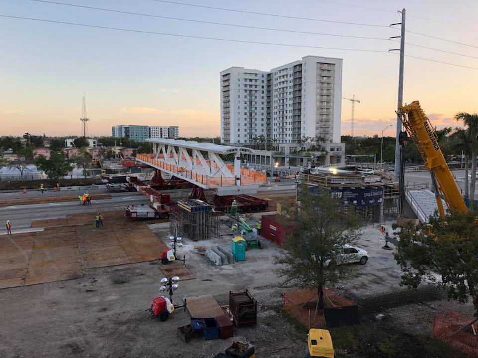 <div class='meta'><div class='origin-logo' data-origin='none'></div><span class='caption-text' data-credit='City of Sweetwater'>Photo of a pedestrian bridge uploaded the Saturday before it collapsed on the Florida International University campus.</span></div>