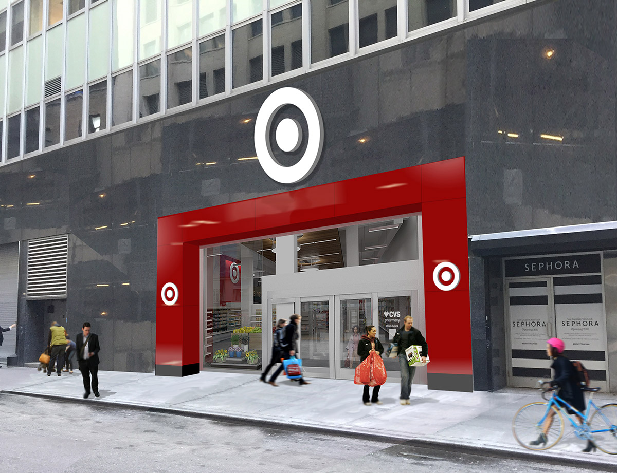 "<div class=""meta image-caption""><div class=""origin-logo origin-image none""><span>none</span></div><span class=""caption-text"">This rendering shows the entrance to the Herald Square Target store from 33rd Street in Midtown, Manhattan. (Photo/Target)</span></div>"