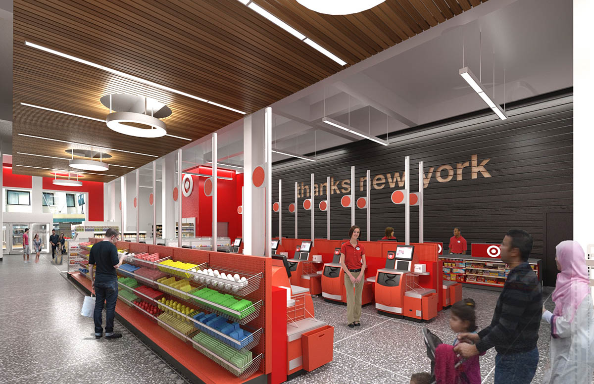 "<div class=""meta image-caption""><div class=""origin-logo origin-image none""><span>none</span></div><span class=""caption-text"">This rendering shows what the checkout area will look like at the Target store on 34th Street in Midtown Manhattan. (Photo/Target)</span></div>"