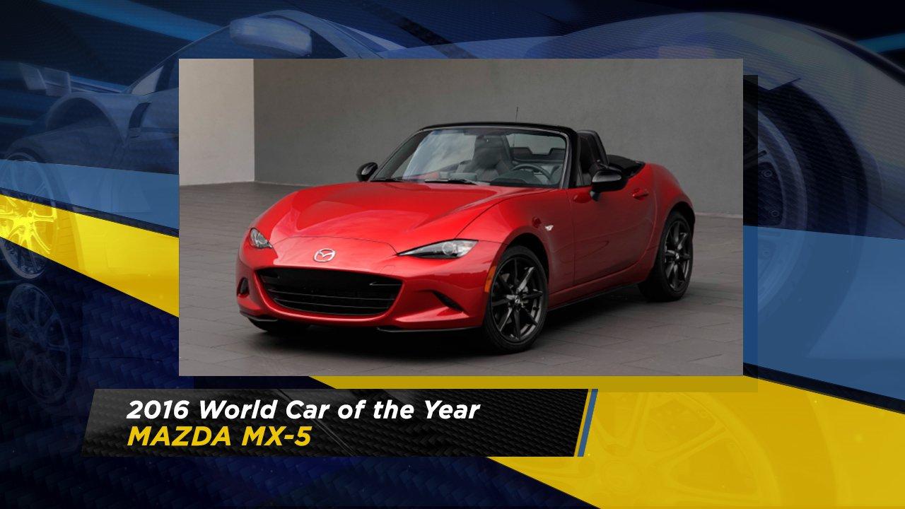 World Car Mazda >> World Car Awards Announce Car Of The Year Awards For 2016 Abc7ny Com