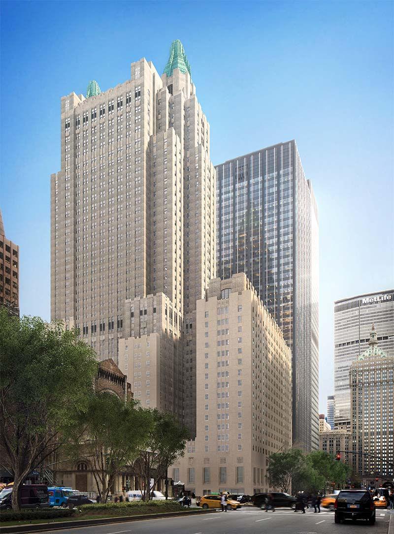"<div class=""meta image-caption""><div class=""origin-logo origin-image none""><span>none</span></div><span class=""caption-text"">Exterior of the Waldorf Astoria New York (© Skidmore, Owings & Merrill LLP/ rendering by Methanoia Inc.)</span></div>"