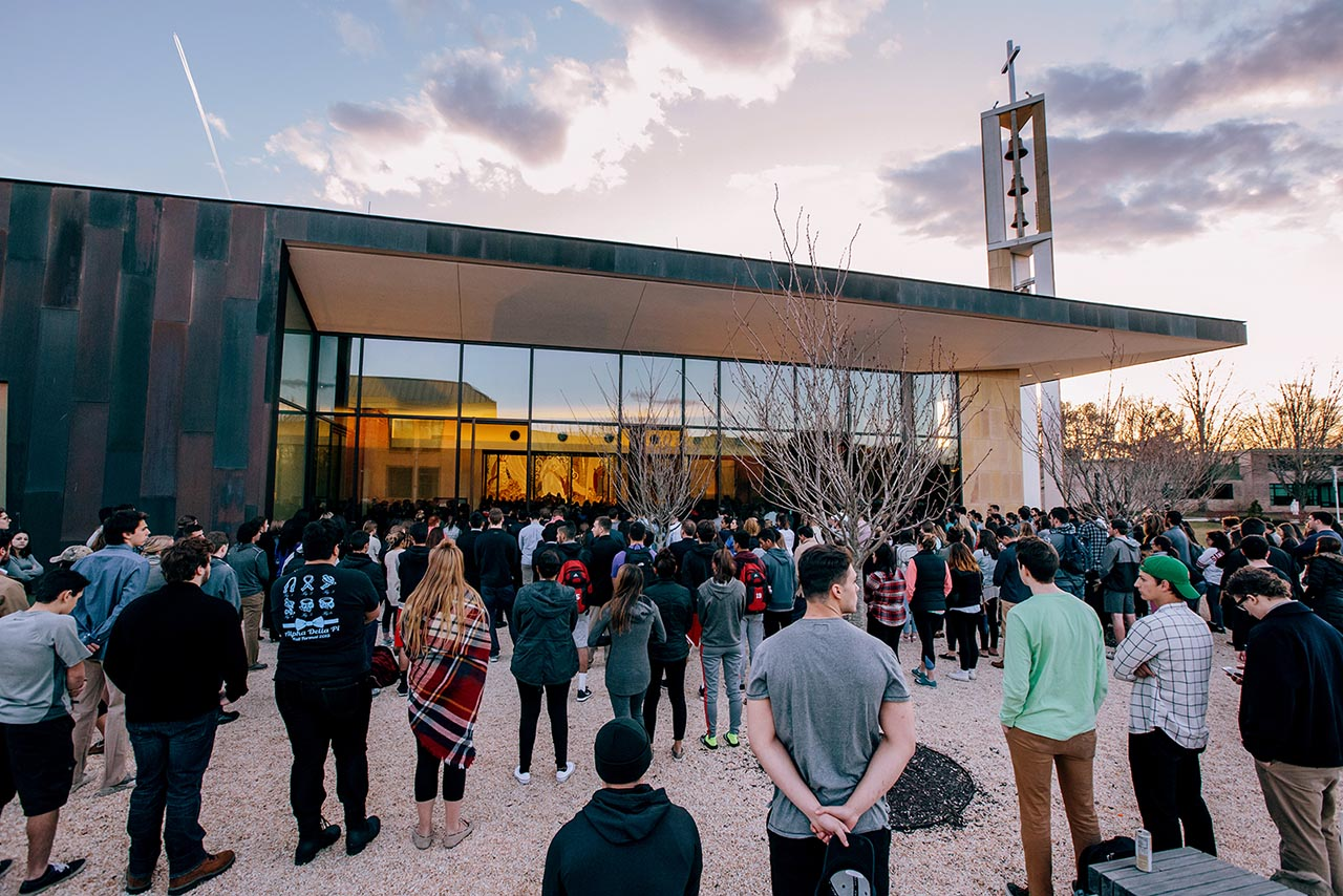 <div class='meta'><div class='origin-logo' data-origin='none'></div><span class='caption-text' data-credit='Photo/Sean Kaschak'>The Sacred Heart University celebrated Mass in the Chapel of the Holy Spirit in memory of student Caitlin Nelson who passed away on April 2, 2017.</span></div>