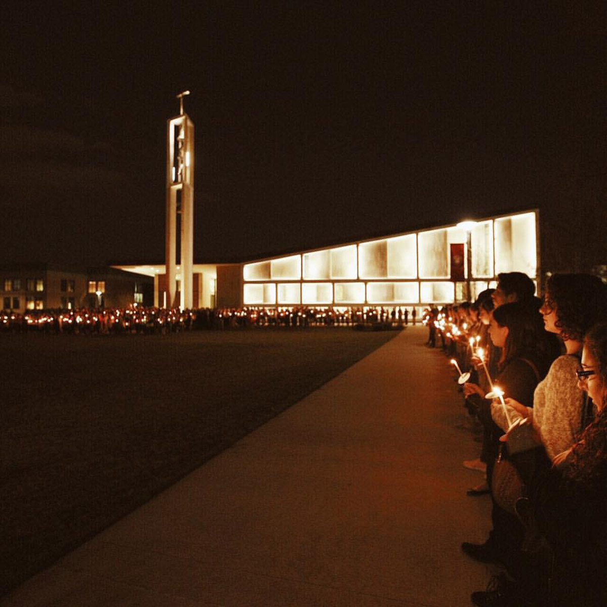 <div class='meta'><div class='origin-logo' data-origin='none'></div><span class='caption-text' data-credit='Photo/Sean Kaschak'>The Sacred Heart University held a candlelight vigil in memory of student Caitlin Nelson who passed away on April 2, 2017.</span></div>