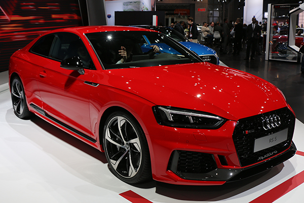 <div class='meta'><div class='origin-logo' data-origin='none'></div><span class='caption-text' data-credit=''>The 2018 Audi RS5 is a part of the Audi Sport family.</span></div>