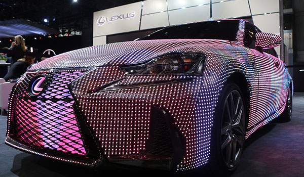 <div class='meta'><div class='origin-logo' data-origin='WABC'></div><span class='caption-text' data-credit=''>This 2017 Lexus IS covered in 41,999 color-changing LED lights.</span></div>