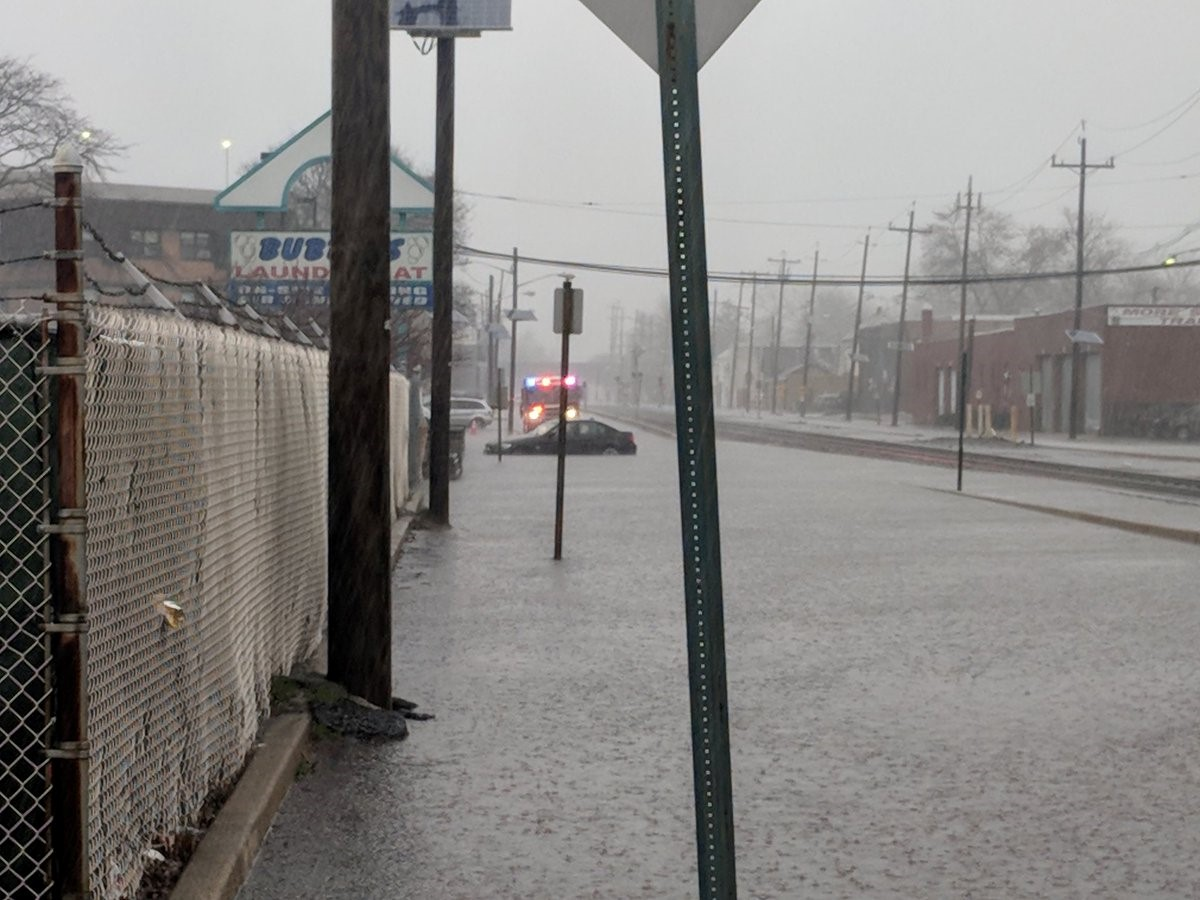 <div class='meta'><div class='origin-logo' data-origin='WABC'></div><span class='caption-text' data-credit='Hackensack Fire Dept.'>Flooding on Railroad Avenue between Essex and Sussex Street in Hackensack, New Jersey during a heavy rainstorm on Monday, April 16, 2018.</span></div>