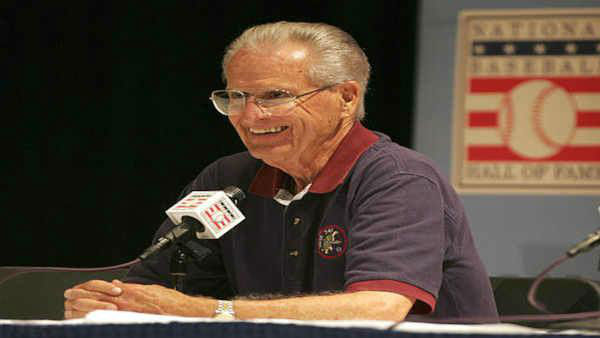 Hall of Fame broadcaster Jerry Coleman, a former second baseman who interrupted his career to fly as a Marine Corps pilot in World War II and Korea, died Jan. 5, 2014. He was 89. <span class=meta>(AP Photo &#47; John Dunn)</span>