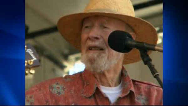 Pete Seeger, the banjo-picking troubadour who introduced generations of Americans to their folk music heritage, died Jan. 27, 2014. He was 94. <span class=meta></span>