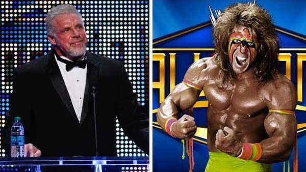 <div class='meta'><div class='origin-logo' data-origin='none'></div><span class='caption-text' data-credit=''>James Hellwig, better known as former WWE champion The Ultimate Warrior, passed away Apr. 8, 2014 - days after he was inducted into the WWE Hall of Fame. He was 54.</span></div>