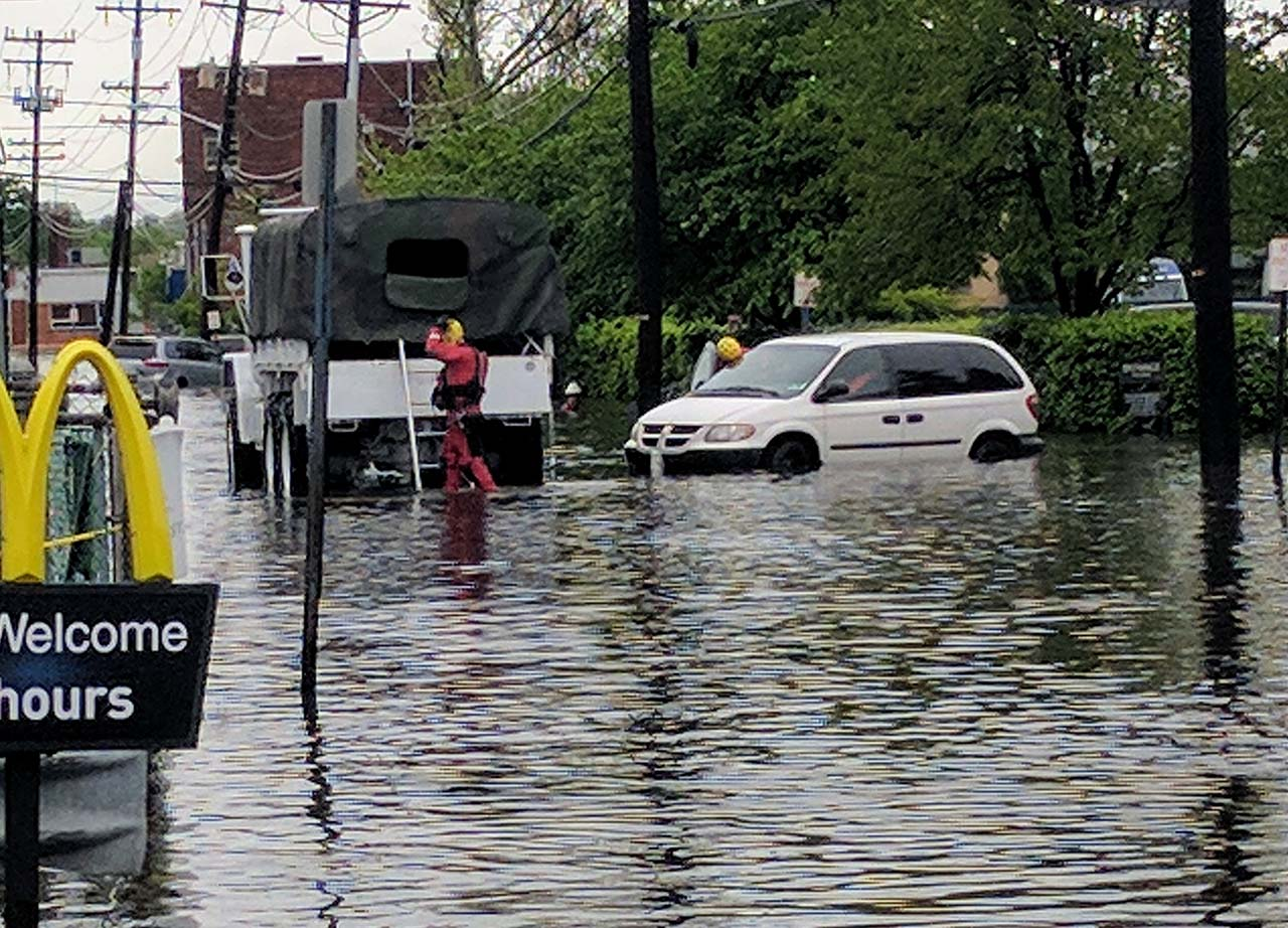 <div class='meta'><div class='origin-logo' data-origin='none'></div><span class='caption-text' data-credit='Photo/Hackensack Fire Department'>Flooding at Hudson Street and Kennedy in Hackensack, New Jersey.</span></div>