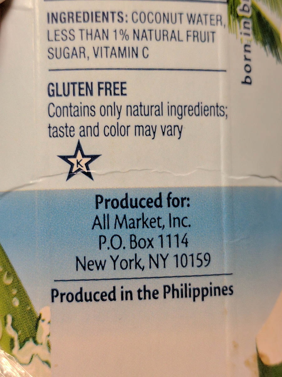 <div class='meta'><div class='origin-logo' data-origin='none'></div><span class='caption-text' data-credit='Photo/Barbara Kline'>Barbara Kline of Goshen, New York, said she found a squid-like substance in her bottle of coconut water.</span></div>
