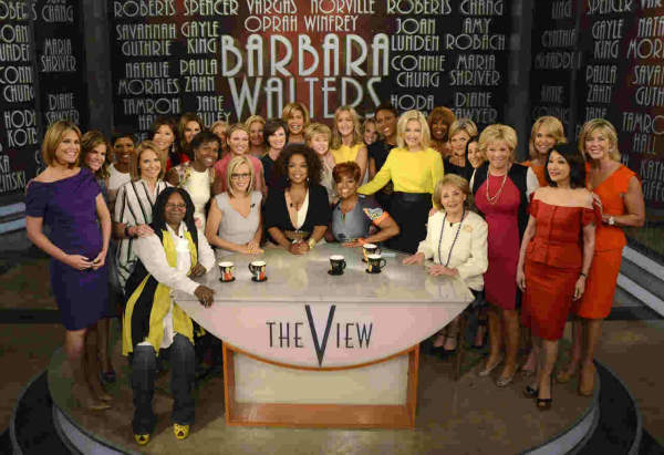 Barbara Walters&#39; last day on The View. <span class=meta>(ABC&#47; Ida Mae Astute)</span>
