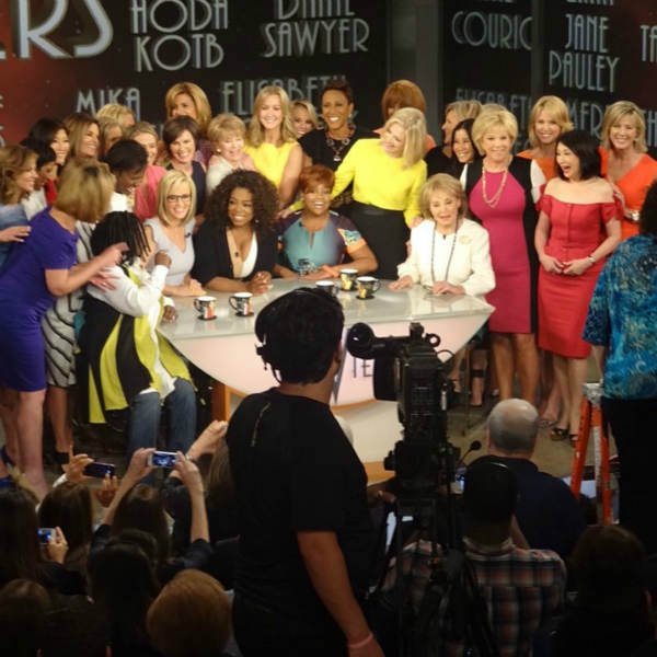 Barbara Walters&#39; last day on The View. <span class=meta>(WABC Photo&#47; Sandy Kenyon)</span>