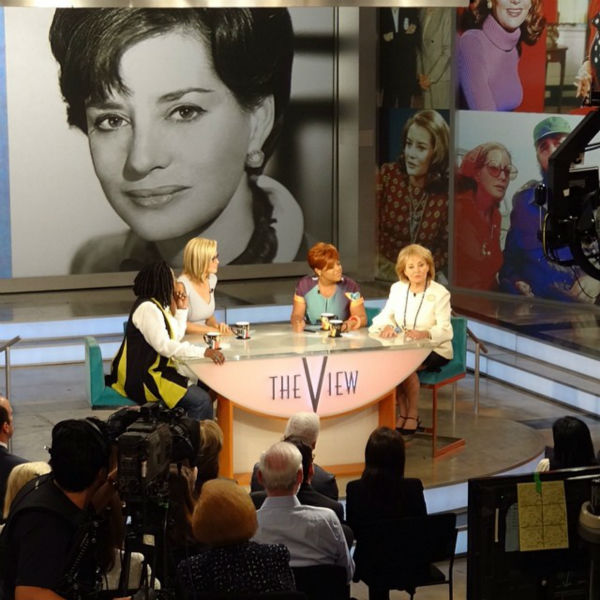 "<div class=""meta ""><span class=""caption-text "">Photos from Barbara Walters' last day on The View. (WABC Photo/ Sandy Kenyon)</span></div>"