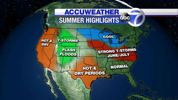 The Summer Forecast From AccuWeather Abcnycom - Go to accu weather