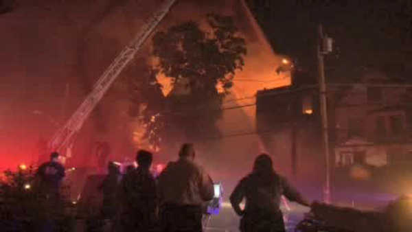 <div class='meta'><div class='origin-logo' data-origin='WABC'></div><span class='caption-text' data-credit=''>A three-alarm fire Saturday night displaced dozens of people in Mount Vernon.</span></div>