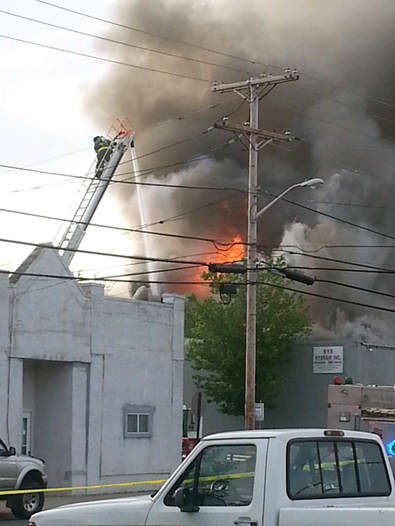 Authorities say that a Monmouth County firefighter has been killed fighting a fire at a commercial building in Union Beach. <span class=meta>(Fire/EMS Films)</span>