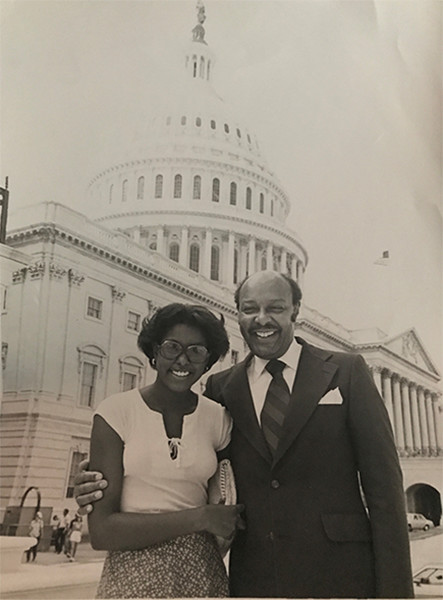 <div class='meta'><div class='origin-logo' data-origin='none'></div><span class='caption-text' data-credit=''>Lori Stokes and her dad.</span></div>