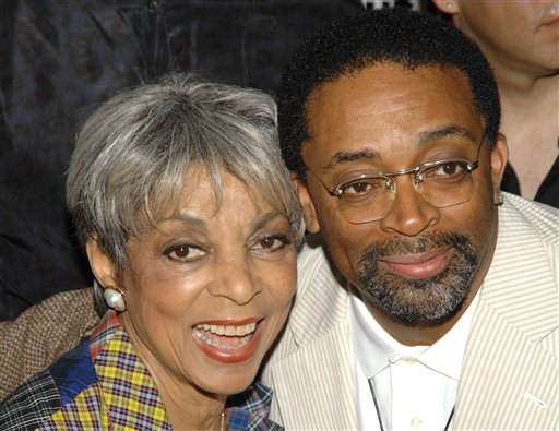Actress Ruby Dee and director Spike Lee attend a special 20th anniversary screening of