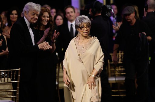 <div class='meta'><div class='origin-logo' data-origin='none'></div><span class='caption-text' data-credit='AP Photo/Kevork Djansezian'>Ruby Dee after winning the award for Best Supporting Actress at the 14th Annual Screen Actors Guild Awards on Sunday, Jan. 27, 2008, in Los Angeles.</span></div>
