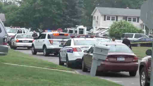 One person was killed after a small plane crashed in the backyard of a home in East Patchogue.
