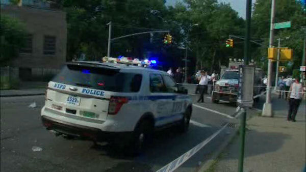 <div class='meta'><div class='origin-logo' data-origin='none'></div><span class='caption-text' data-credit='WABC Photo/ WABC'>A mother and her two daughters were struck by a stolen minivan in Flatlands, Brooklyn on Wednesday afternoon.</span></div>