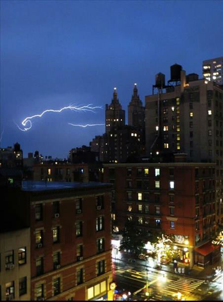 Severe thunderstorms rolled through the New York area on Thursday, July 3 creating flooding and other damage. <span class=meta>(WABC Photo&#47; WABC)</span>