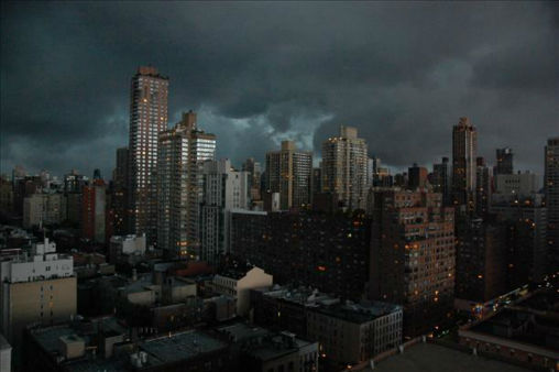 Stormy evening on the Upper East Side on July 3. <span class=meta>(WABC Photo&#47; WABC)</span>