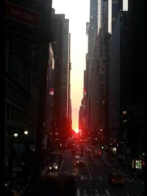 "<div class=""meta image-caption""><div class=""origin-logo origin-image ""><span></span></div><span class=""caption-text"">Eyewitness News viewers sent us their photos of Manhattanhenge, where the sunset aligns with Manhattan's grid, creating a glow down every cross street.</span></div>"