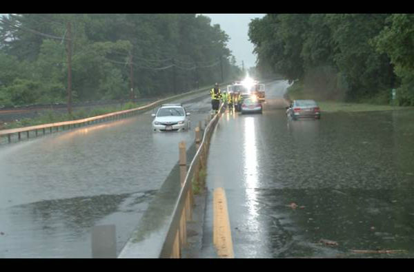 Flooding in Westchester  <span class=meta>(WABC Photo)</span>