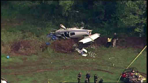 "<div class=""meta image-caption""><div class=""origin-logo origin-image ""><span></span></div><span class=""caption-text"">A small plane crashed before landing at an airport in Somerset County, New Jersey on Wednesday.</span></div>"