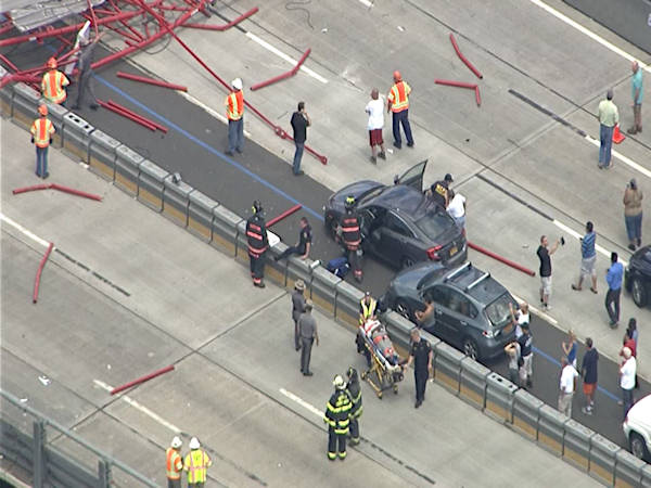 "<div class=""meta image-caption""><div class=""origin-logo origin-image wabc""><span>WABC</span></div><span class=""caption-text"">Photos from NewsCopter 7 of the crane collapse on the Tappan Zee Bridge on Tuesday, July 19, 2016. (NewsCopter 7)</span></div>"