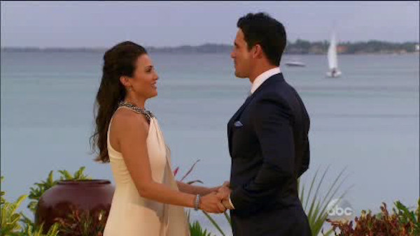 Andi appeared in a beautiful Andi Dorfman Frown