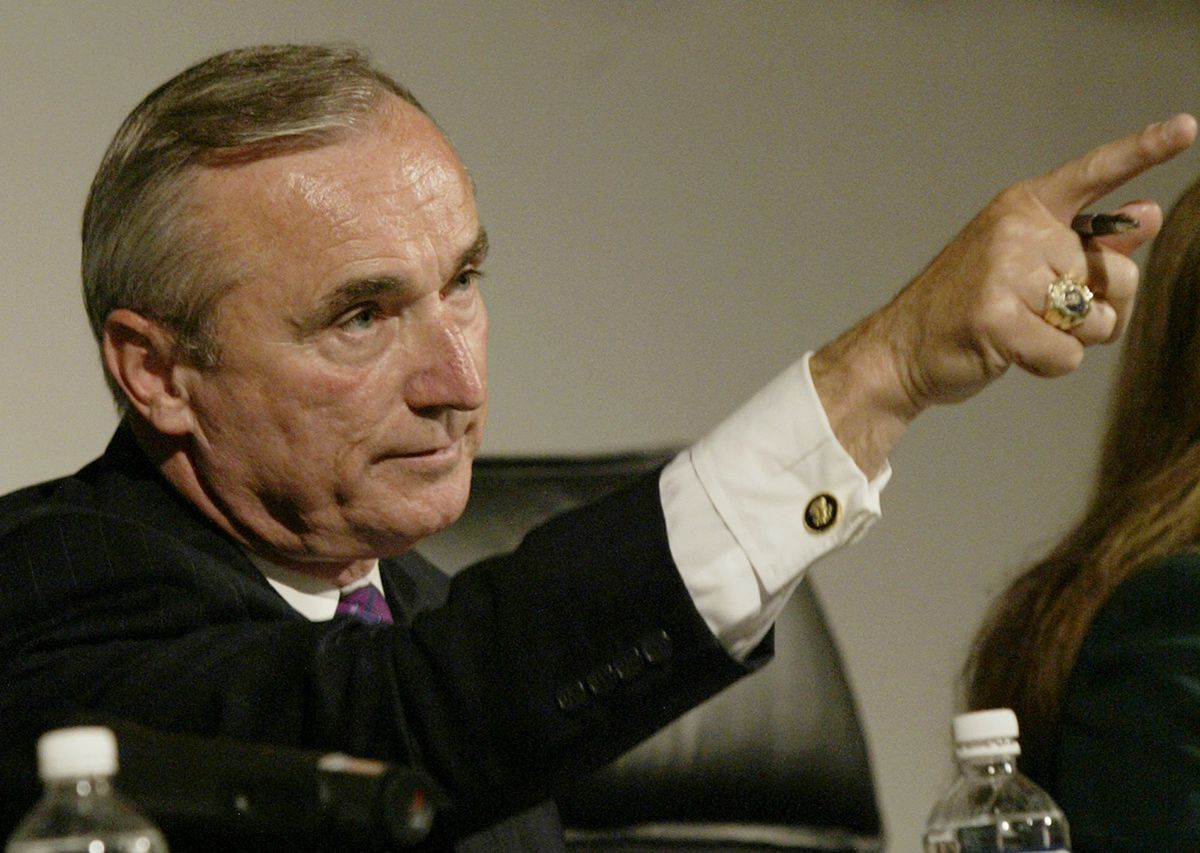 <div class='meta'><div class='origin-logo' data-origin='AP'></div><span class='caption-text' data-credit='AP Photo/Nick Ut'>Los Angeles Police Chief William Bratton speaks during a meeting of the Board of Police Commissioners Tuesday, July 13, 2004, in Los Angeles.</span></div>
