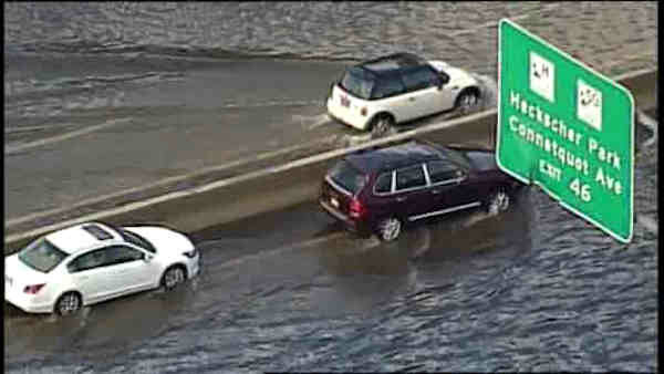 "<div class=""meta image-caption""><div class=""origin-logo origin-image ""><span></span></div><span class=""caption-text"">See images of flooding, stranded cars and downed trees after severe storms moved through the New York area overnight Wednesday.</span></div>"