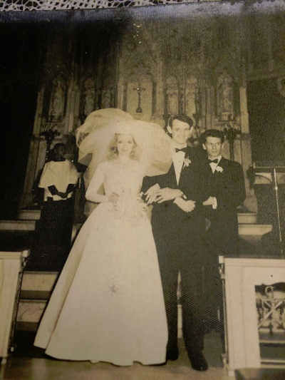 After Superstorm Sandy, dozens of old wedding photos washed up on Staten Island. The family who found them wants to return the priceless mementos. <span class=meta>Photo/WABC Photo</span>