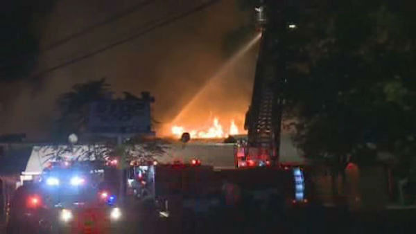"""<div class=""""meta image-caption""""><div class=""""origin-logo origin-image """"><span></span></div><span class=""""caption-text"""">Firefighters battled a two-alarm fire early Tuesday at a meat market in Piscataway, NJ.</span></div>"""