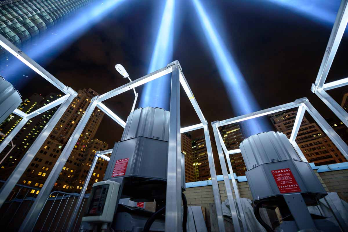<div class='meta'><div class='origin-logo' data-origin='none'></div><span class='caption-text' data-credit='WABC Photo / Mike Waterhouse'>The 'Tribute in Light' memorial shines in Lower Manhattan on the night before the 15th anniversary of the September 11, 2001, terror attacks.</span></div>