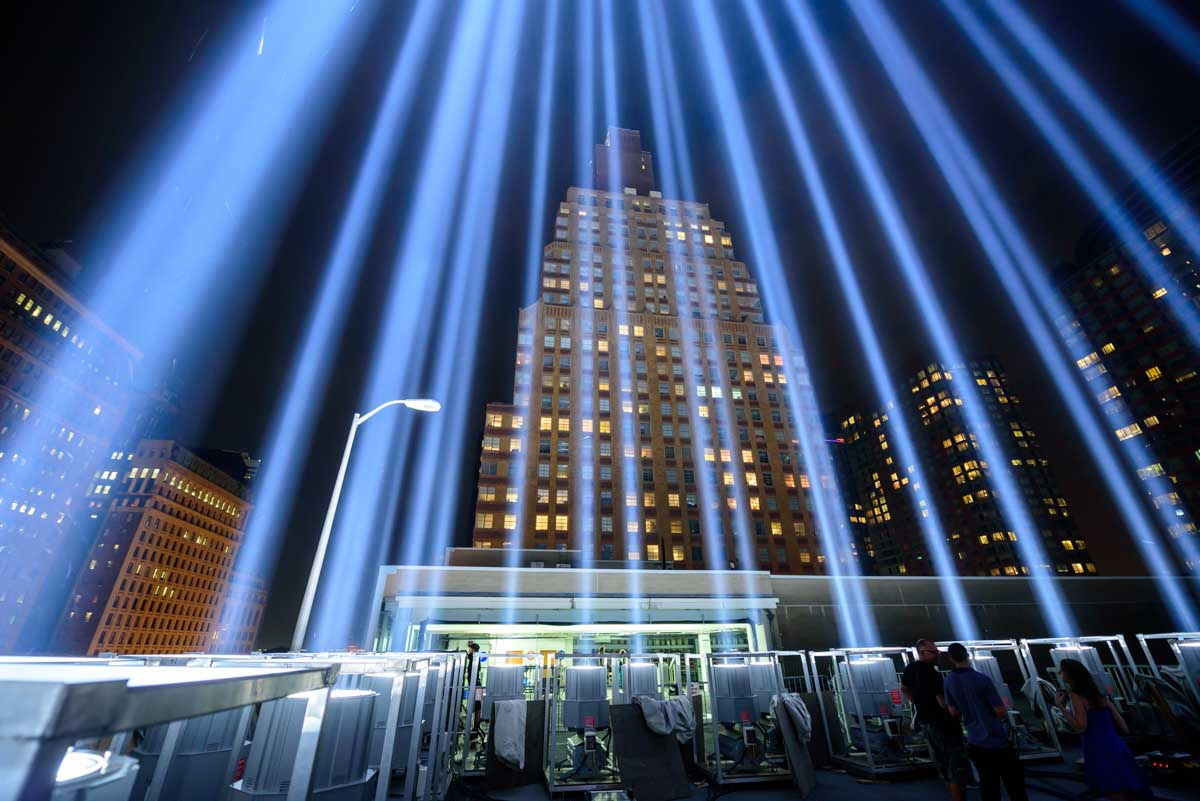 "<div class=""meta image-caption""><div class=""origin-logo origin-image none""><span>none</span></div><span class=""caption-text"">The 'Tribute in Light' memorial shines in Lower Manhattan on the night before the 15th anniversary of the September 11, 2001, terror attacks. (WABC Photo/Mike Waterhouse)</span></div>"