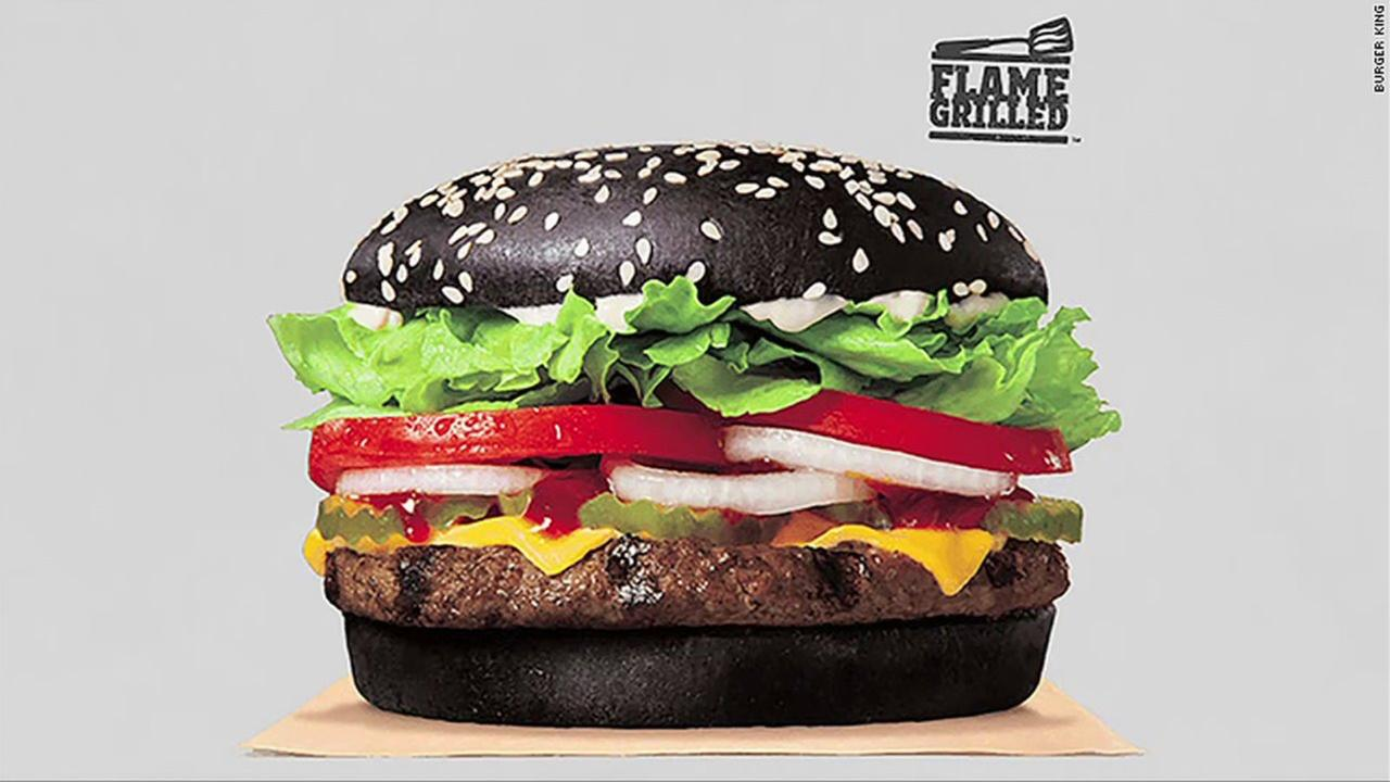 Would you try it? Burger King selling hamburger with black bun for Halloween
