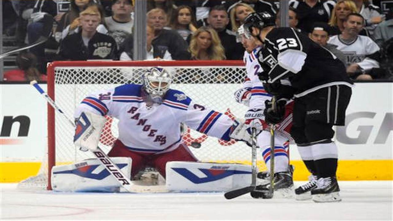 Rangers lose 5-4 to Kings in double OT, now 0-2 in series