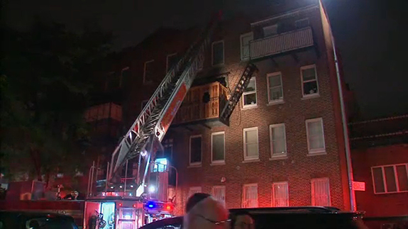 At least 14 injured, including firefighters, in Brooklyn apartment fire