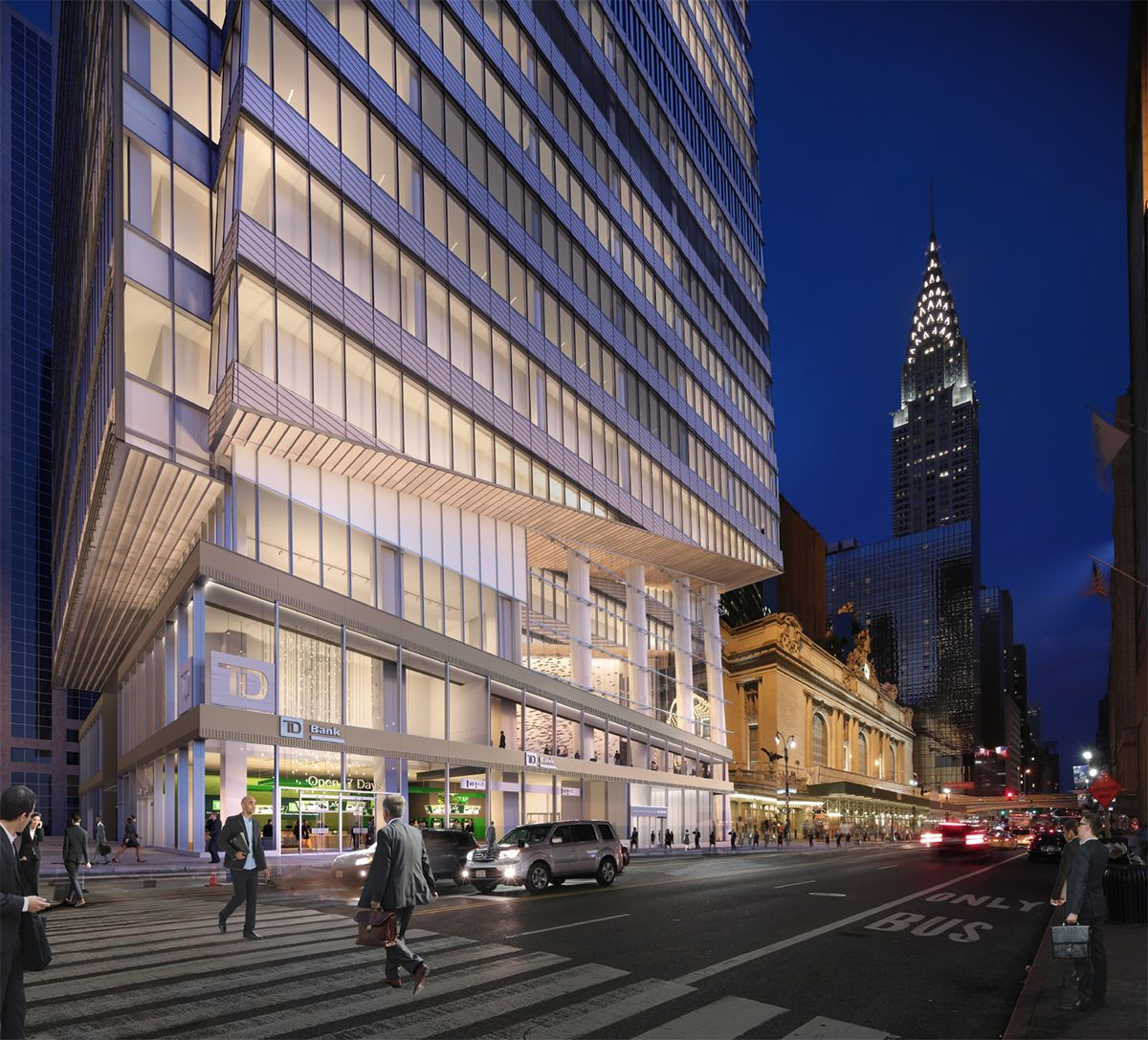 <div class='meta'><div class='origin-logo' data-origin='none'></div><span class='caption-text' data-credit=''>Renderings show a new all-glass, high-rise office building that will be situated next to Grand Central Terminal in Midtown East in New York City.</span></div>